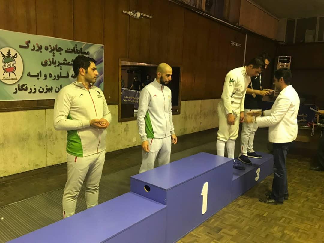 اعزام شمشیر بازان البرزی به مسابقات قهرمانی کشور