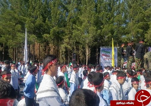 آغاز راهپیمایی استکبارستیزی ۱۳ آبان در خراسان جنوبی + تصاویر