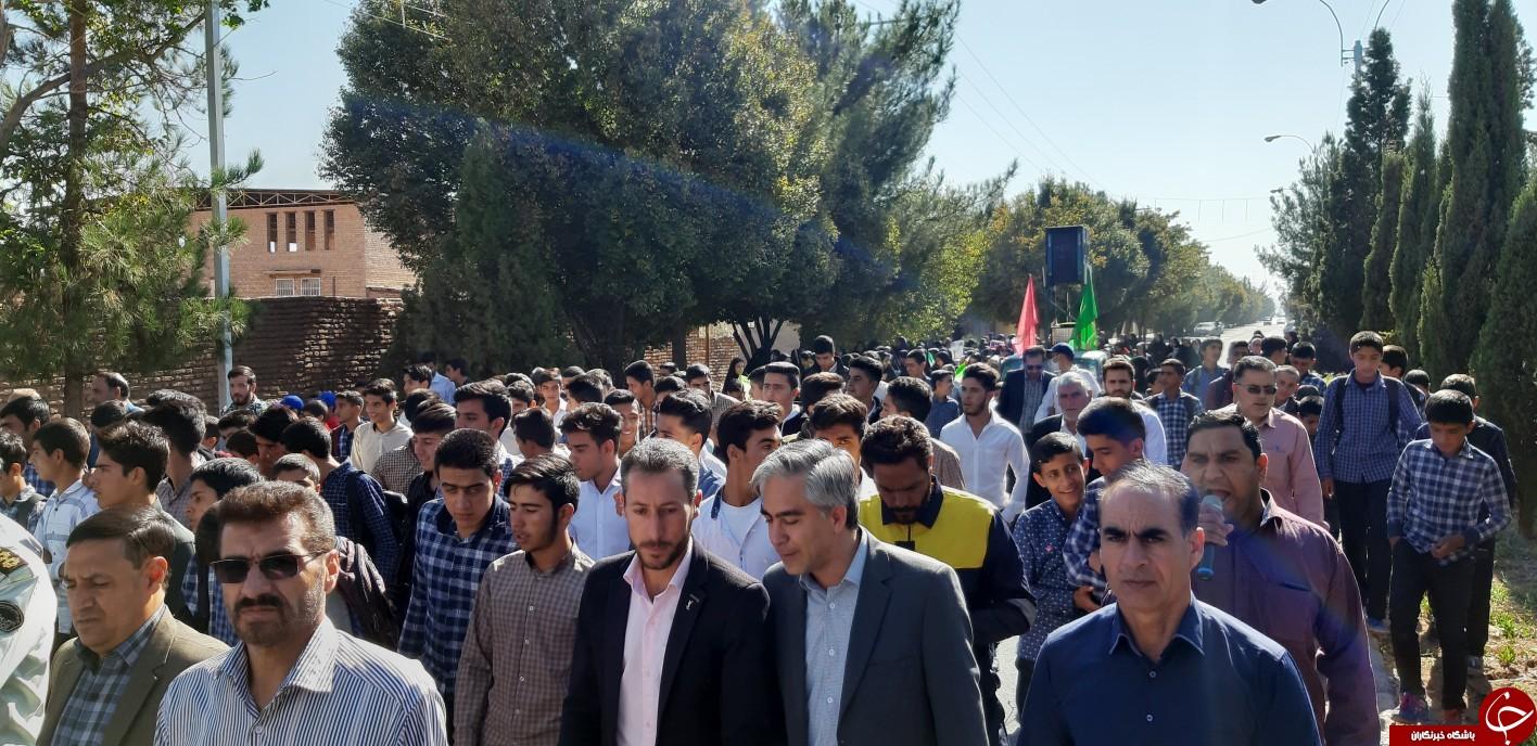 آغاز راهپیمائی یوم الله 13 آبان در شهرستان های استان کرمان
