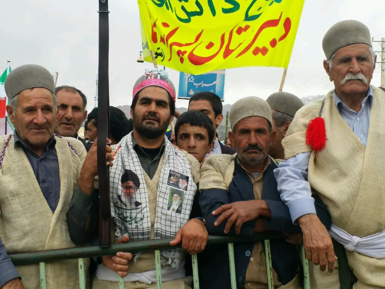 آغاز راهپیمایی یوم الله ۱۳ آبان در کهگیلویه و بویراحمد