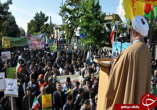 راهپیمایی سیزده آبان استان سمنان به روایت تصویر