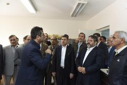 بازدید رئیس سازمان پدافند غیرعامل کشور از موسسه تحقیقات اصلاح و تهیه نهال و بذر در البرز