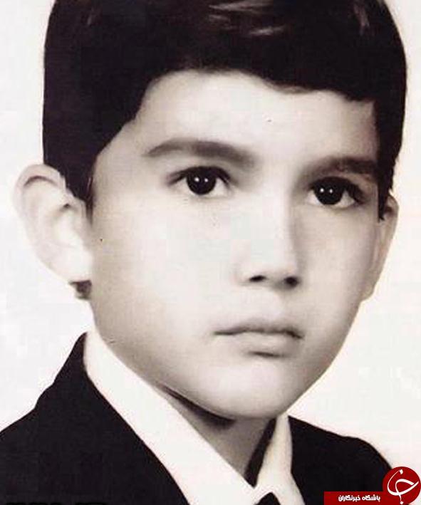عکسی کمتردیده شده از دوران کودکی حامد بهداد