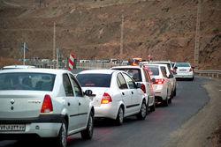 ترافیک در محورهای مواصلاتی زنجان روان و عادی است