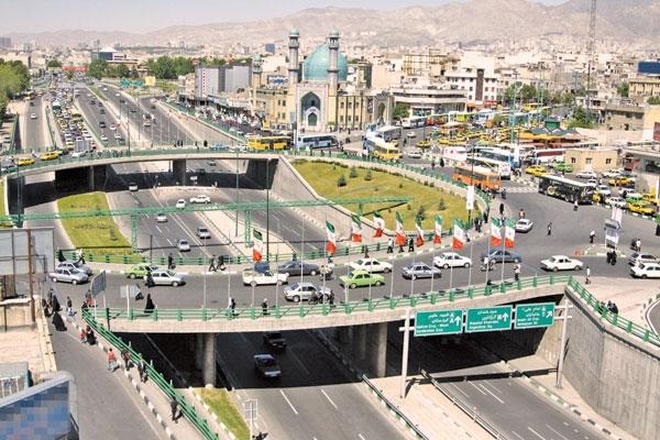 تهران ما////// رفع نواقص پل عابر مکانیزه بزرگراه رسالت در آینده ای نزدیک