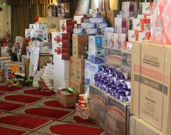 اهدای ۱۰۱۰ سری جهیزیه به نوعروسان نیازمند آذربایجان شرقی