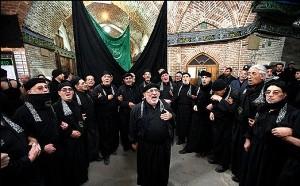برگزاری مراسم عزاداری سالگرد شهادت امام حسن عسکری (ع) در تبریز
