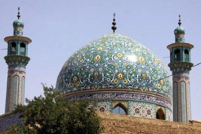 آغاز مرمت و بازسازی مسجد امام حسین ورودی شهر مهران