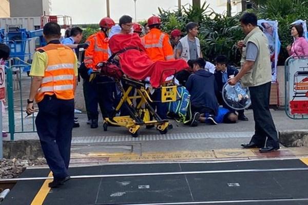 یک معترض هنگ کنگی در ترور قانونگذار این کشور ناکام ماند+تصاویر