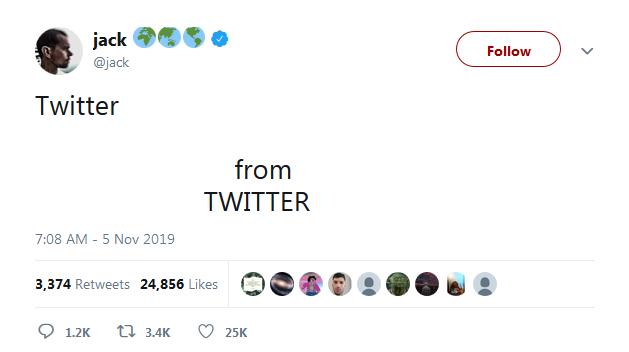 تمسخر لوگوی جدید فیسبوک توسط مدیر عامل توییتر