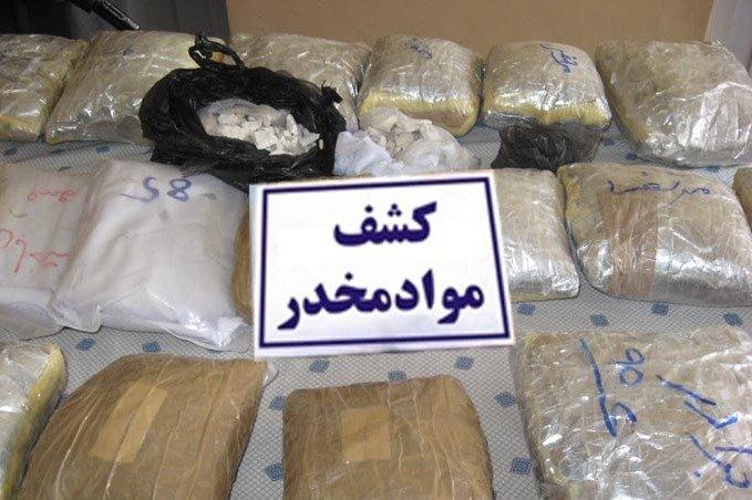 کشف ۷۰ کیلوگرم مواد مخدر در گناباد