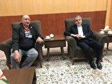 باشگاه خبرنگاران -دیدار رئیس کمیته المپیک با تیمور غیاثی