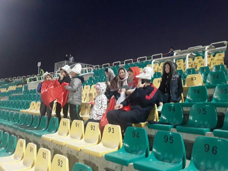 تیم ملی فوتبال جوانان ایران صفر - قرقیزستان صفر/ پایان نیمه اول