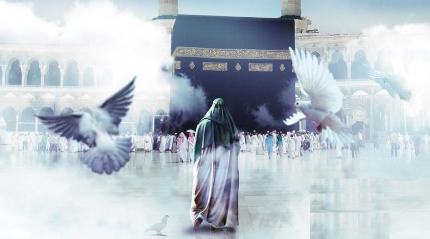 شبیه سازی ظهور امام زمان (عج) در نمایش الحسین (ع) یجمعنا +فیلم
