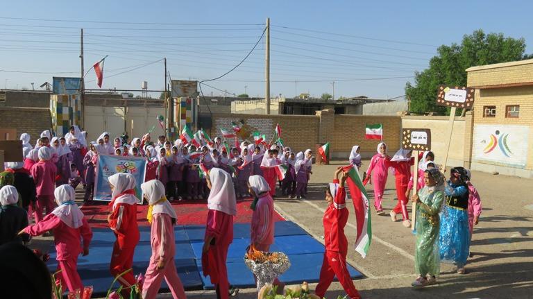 المپیاد ورزشی درون مدرسهای در چوار برگزار شد