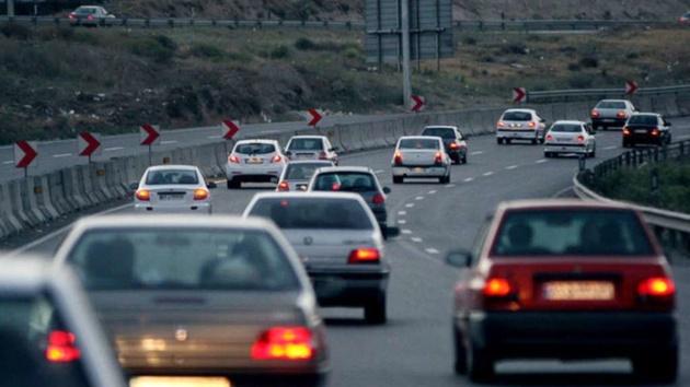 افزایش 4.3 درصدی ترددهای جادهای نسبت به روز گذشته
