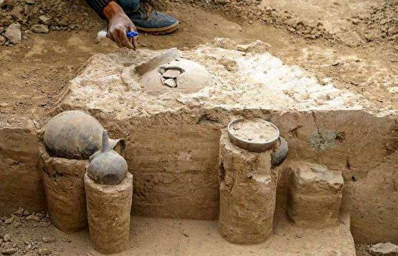 باشگاه خبرنگاران - مستندنگاری ۵۰ قلم شی فرهنگی تاریخی بهدستآمده از کاوشهای ریوی