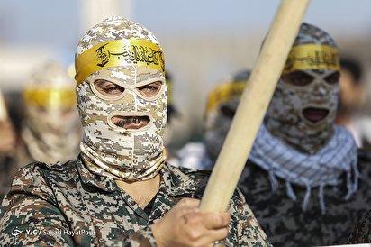صبحگاه مشترک نیروهای مسلح در مسجد جمکران