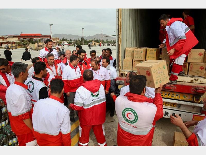 ارسال کمک های مردمی البرز به هیرمند