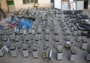 کشف ۵۹ دستگاه ماینر و متعلقات استخراج ارز دیجیتال در رودان