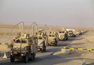 رفت و آمدهای مشکوک خودروهای وابسته به آمریکا از سوریه به عراق + فیلم