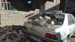خسارتهای به جامانده از زلزله در «حلمسی» + تصاویر