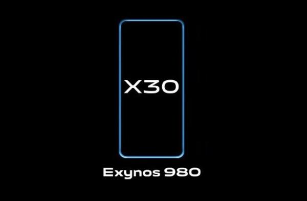 رونمایی ویوو X30 با پردازنده Exynos 980
