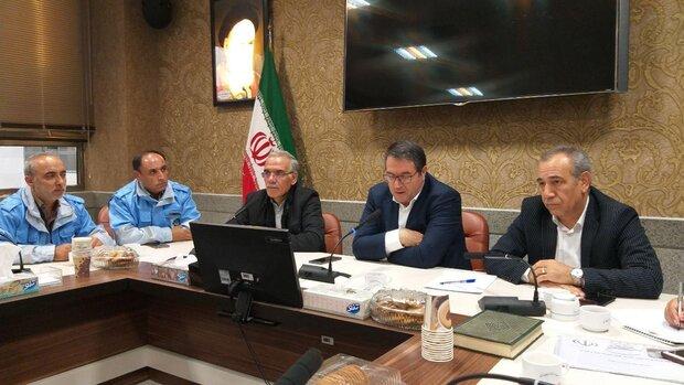 جلسه مدیریت بحران با حضور وزیر صمت در تبریز برگزار شد