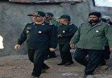 باشگاه خبرنگاران -حضور فرمانده سپاه عاشورا در مناطق زلزلهزده میانه