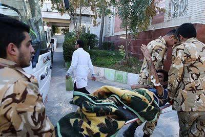 امدادرسانی کادر درمانی بیمارستانهای ارتش به زلزلهزدگان استان آذربایجان شرقی