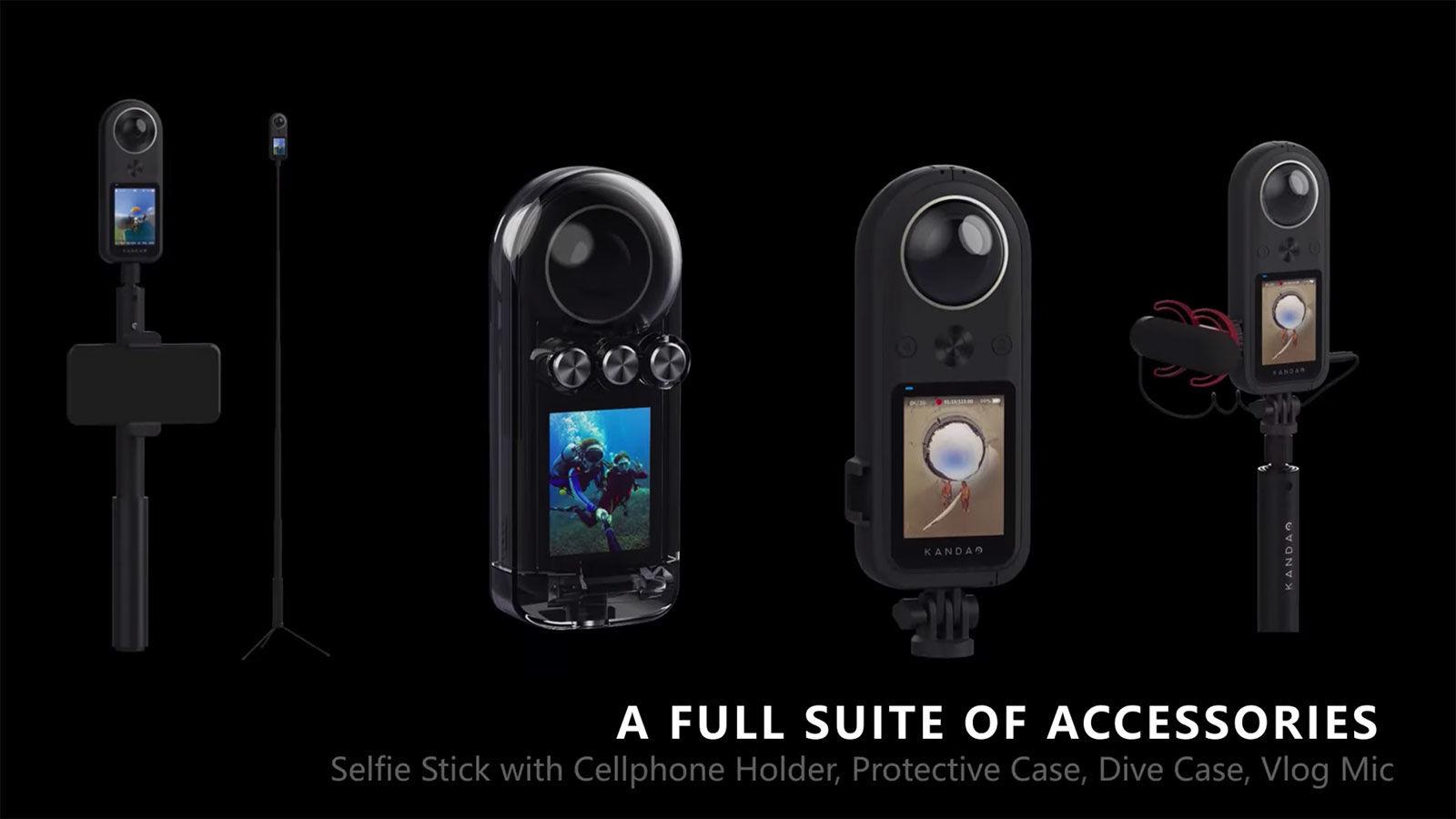 کوچکترین دوربین فیلمبرداری ۳۶۰ درجه با کیفیت 8K در جیب شما + تصویر