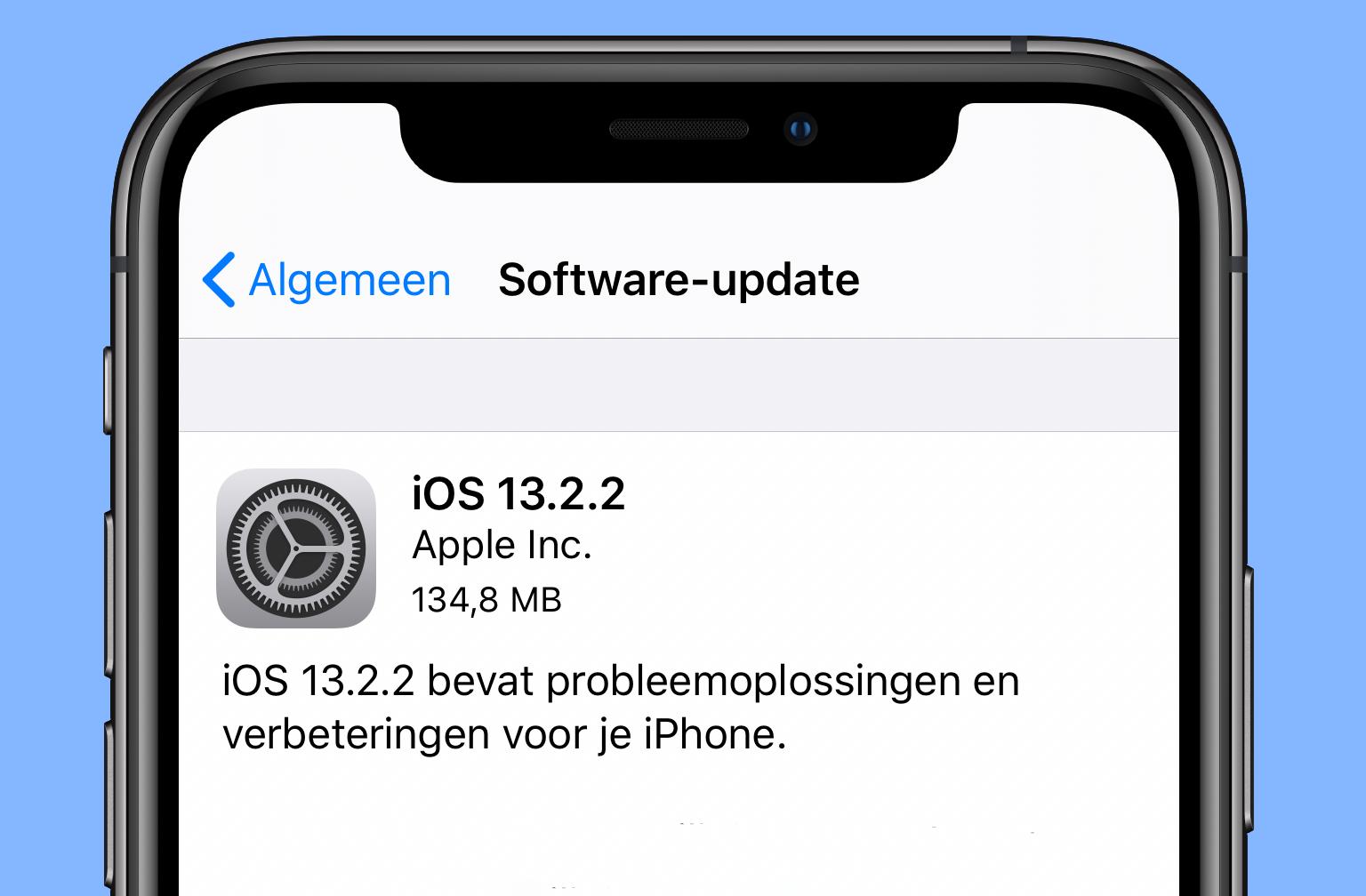 رفع مشکل مالتی تسکینگ در بروزرسانی جدید iOS 13.2.2