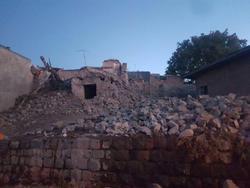 امدادرسانی به روستای زلزلهزده ورنکش + تصاویر