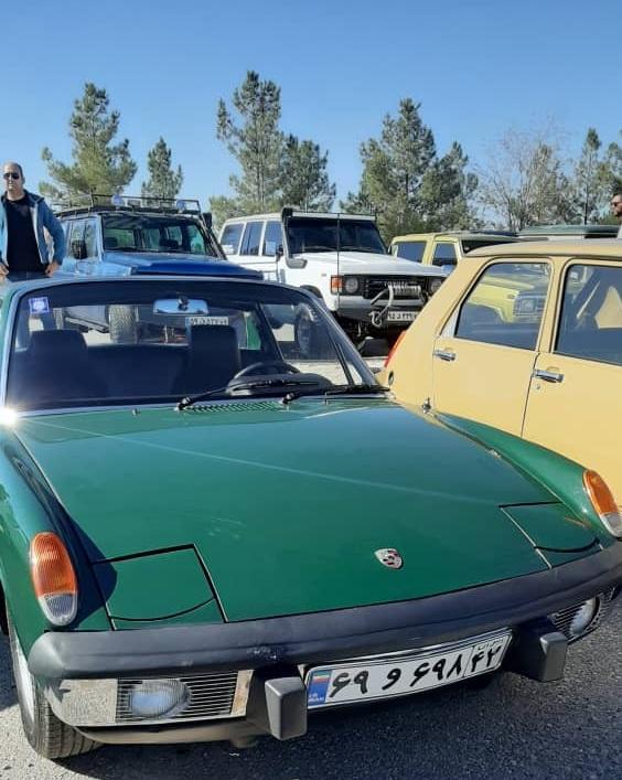 برگزاری همایش خودروهای کلاسیک، قدیمی و آنتیک در مشهد+تصاویر