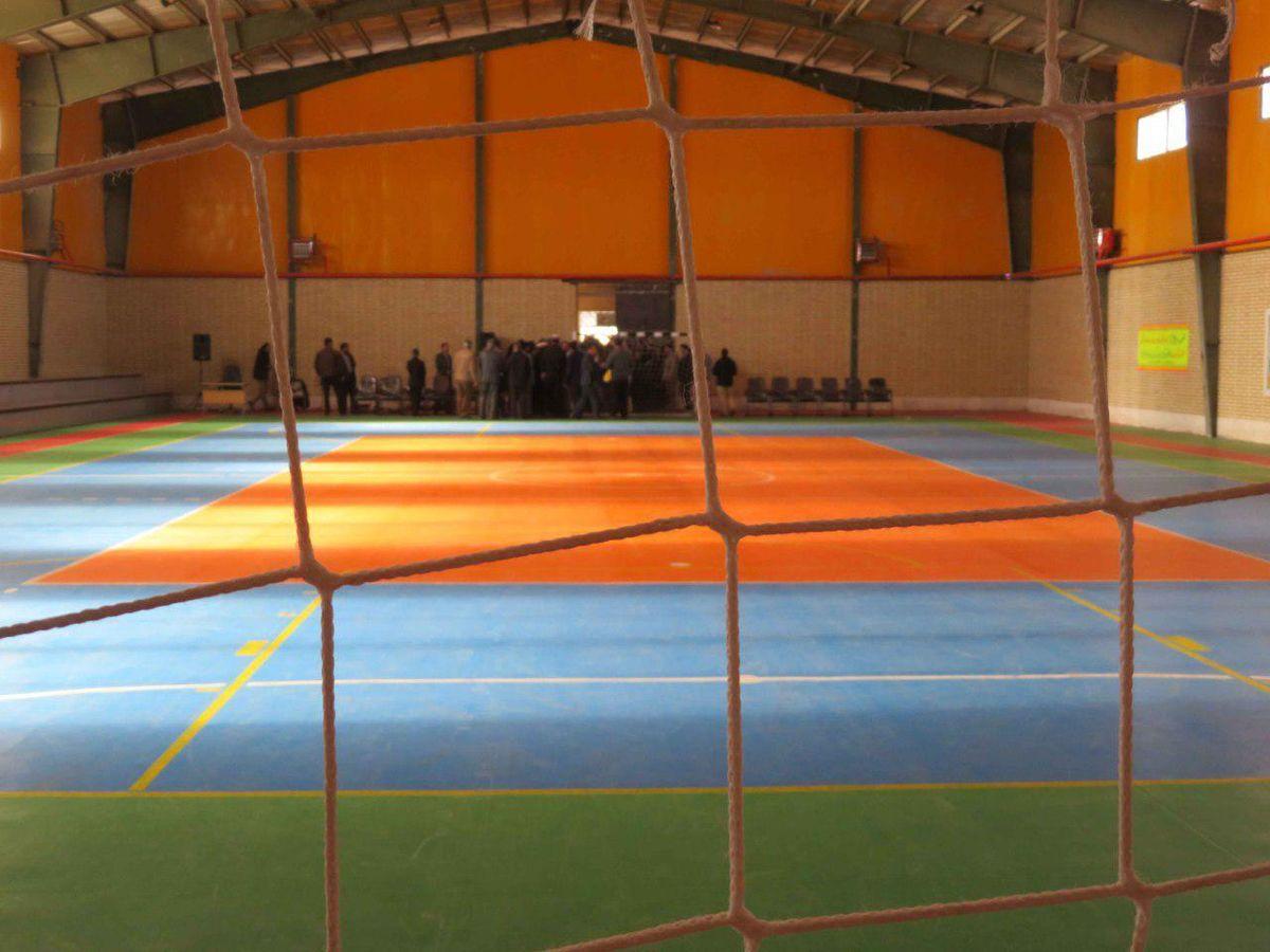 اماکن ورزشی استان اردبیل در اختیار زلزله زدگان