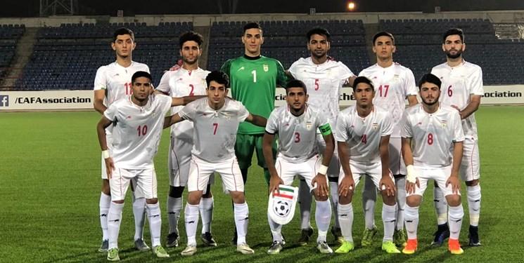 تساوی یک نیمهای تیم ملی فوتبال جوانان ایران مقابل نپال