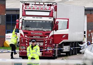 انگلیس اسامی ۳۹ قربانی «کامیون مرگ» را منتشر کرد