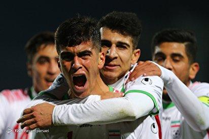 جام جهانی جوانان/ ایران ۴ - نپال ۰