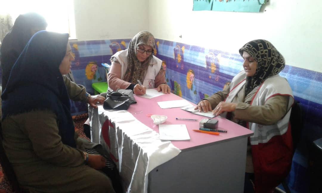 ارائه خدمات پزشکی رایگان در خرمدشت