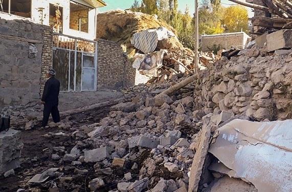 آسیب ۵ تا ۷۰ درصدی زلزله به ۴۰ روستای میانه