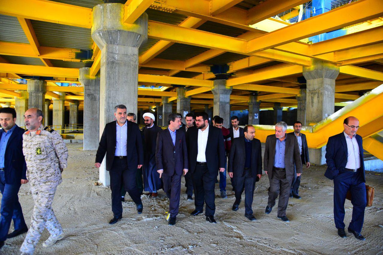 بازدید استاندار آذربایجان غربی از فاز دوم بیمارستان فوق تخصصی شهید عارفیان ارومیه