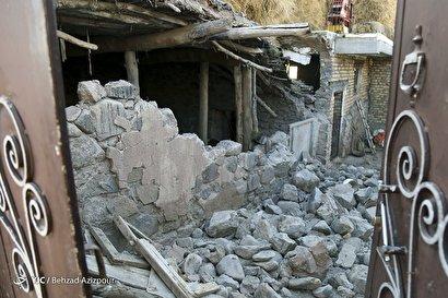 روستای ورنکش پس از زلزله