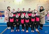باشگاه خبرنگاران -تیم دختران مهاباد مقام سوم مسابقات ژیمناستیک استانی را کسب کرد