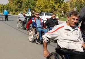 همایش ویلچررانی و پیاده روی جانبازان و معلولین در شهرکرد