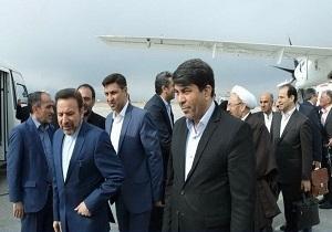 ورود مسئول دفتر ودستیار ویژه رئیس جمهور  به یزد