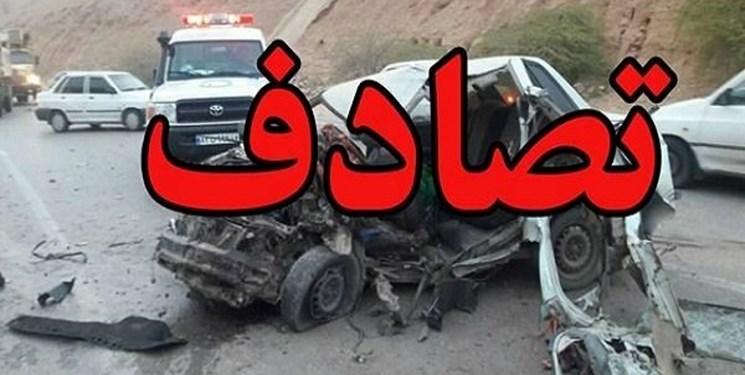 تصادف کاروان عروسی در همدان چهار خانواده را عزادار کرد