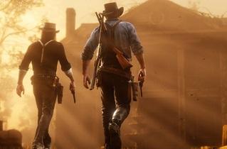 منظره خارق العاده بازی Red Dead Redemption 2 در مانیتورهای ultra-wide