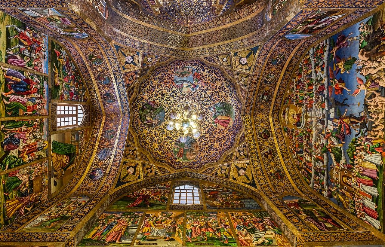 شگفتانگیزترین سقفهای ایرانی به روایت تصاویر