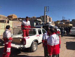 ارسال ۲۰۰ تخته چادر به مناطق زلزله زده آذربایجان شرقی