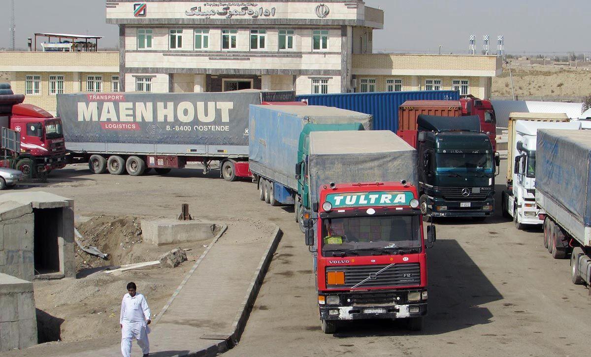 بیشاز ۳۰۱ میلیون دلار کالا از گمرکات سیستان و بلوچستان صادر شده است
